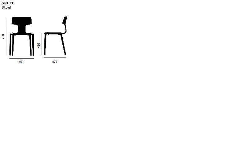 COLOS Color Split Chair