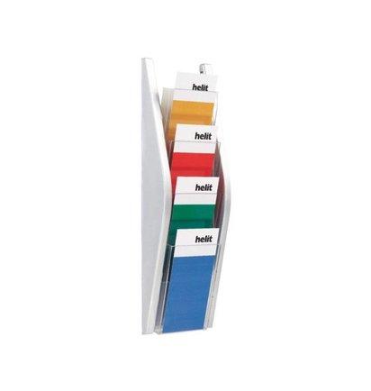 Multi Meubel Folderhouder  4x 1/3 A4 - Folderrekken