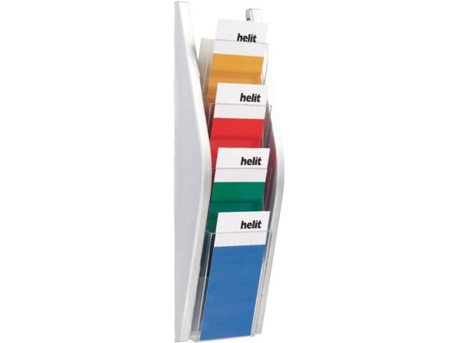 Multi Meubel Folderhouder  4x 1/3 A4