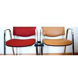 UNIVERSELE STOELKOPPELING OVALE BUIS - Zaalstoelen en kerkstoelen