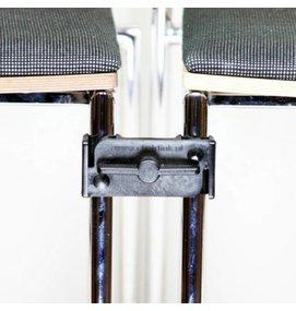 UNIVERSELE STOELKOPPELING VIERKANTE BUIS - Zaalstoelen en kerkstoelen