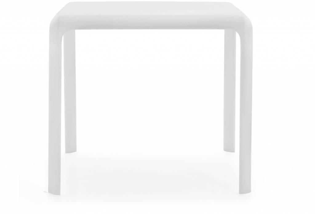 Pedrali Pedrali SNOW tafel 80x80 WIT