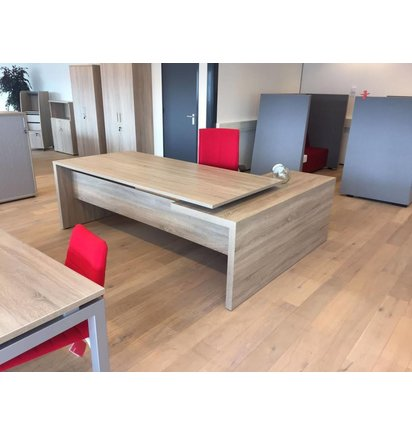 Multi Meubel Directiebureau MAKE IT Robson Eik - Multi Meubel