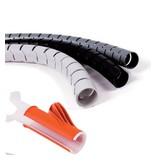 Multi Meubel AKTIE Cable Eater 25mm ZWART per meter
