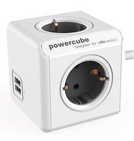 Multi Meubel Power Cube USB - Opbouw stekkerdozen