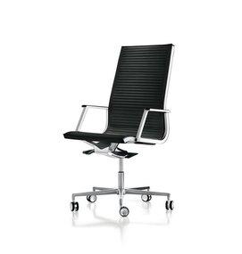LUXY HIGH NULITE RIBBED BUREAUSTOEL 26040 Design Luxy R&D - Directiestoelen