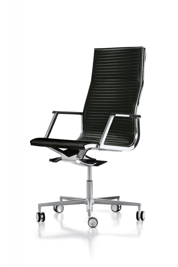 LUXY HIGH NULITE RIBBED BUREAUSTOEL 26040 Design Luxy R&D