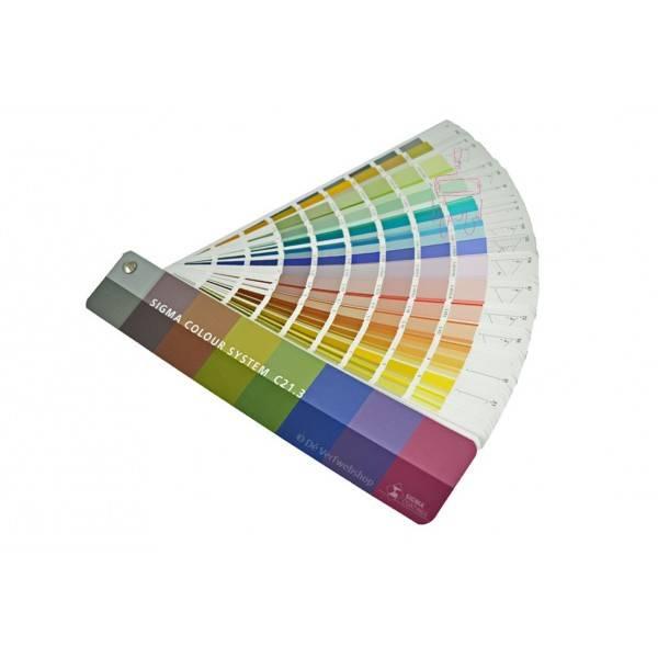 Sigma Colour System C213 Nuancier De Couleur
