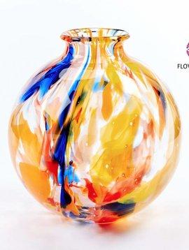 Fidrio Globe vase Art Colours