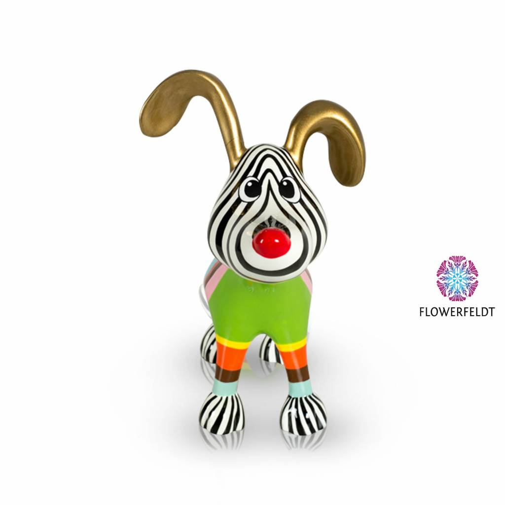 Niloc Pagen Stretching Dog Multi Color Gold