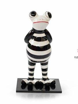Niloc Pagen Standing Frog Black White