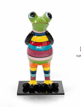 Niloc Pagen Standing Frog Rainbow