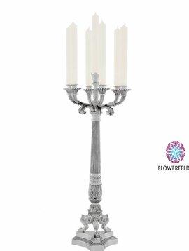 Eichholtz Silver candle holder Jefferson