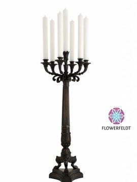 Eichholtz Bronze candle holder Jefferson