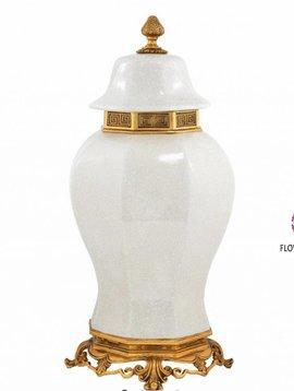 Eichholtz Vase Debussy White