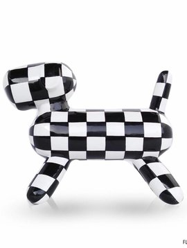 Mia Coppola Black White Dog Tuby
