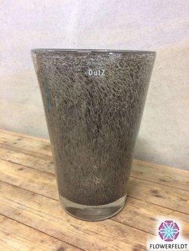 DutZ Vase conic bubble grey