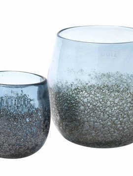 DutZ Potten steelblue bubbels