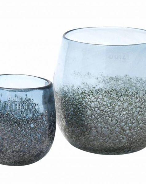 DutZ Potten steelblue bubbels