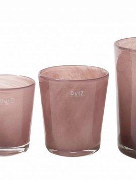 DutZ Conic aubergine vases