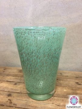 DutZ Vase conic bubble jade