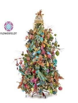 Goodwill Gedecoreerde kerstbomen Bohemian