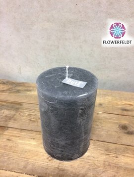 DutZ Candle rustic grey 15 cm