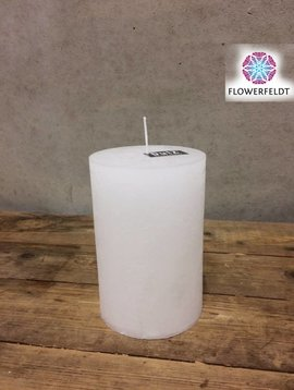 DutZ Candle rustic white 15 cm