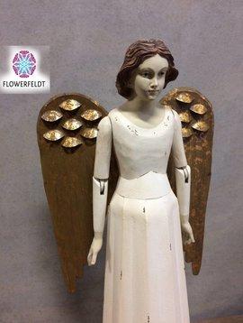 Engel Figuren weiß