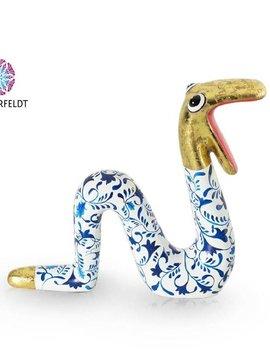 Niloc Pagen Moving Snake Delfts Blue Gold