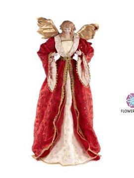 Goodwill Engel Figur rot
