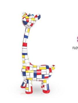 Mia Coppola Standing Giraffe Mondriaan