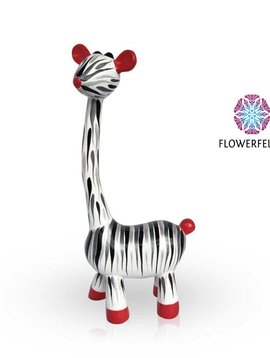 Mia Coppola Standing Giraffe Zebra