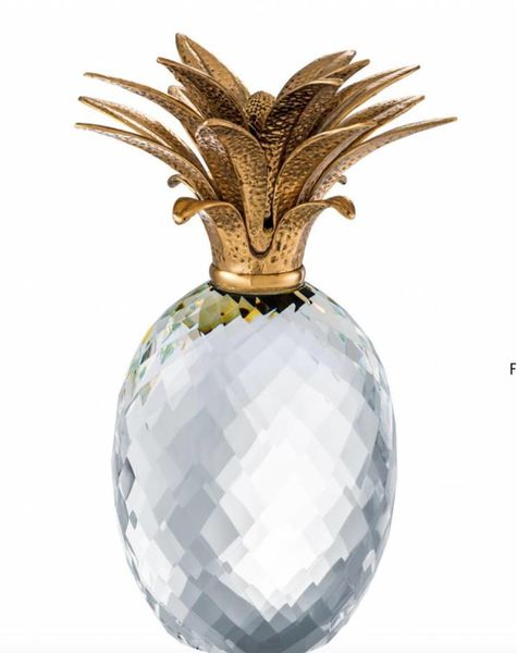 Crystal Pineapple Luxury Pineapples Eichholtz Online Flowerfeldt
