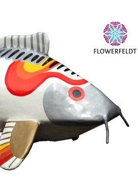 Art figure Happy Koi Fish