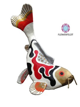 Kunstbeeld Diving Koi