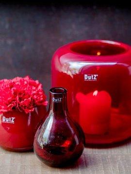 DutZ Vase Mazurka ruby red