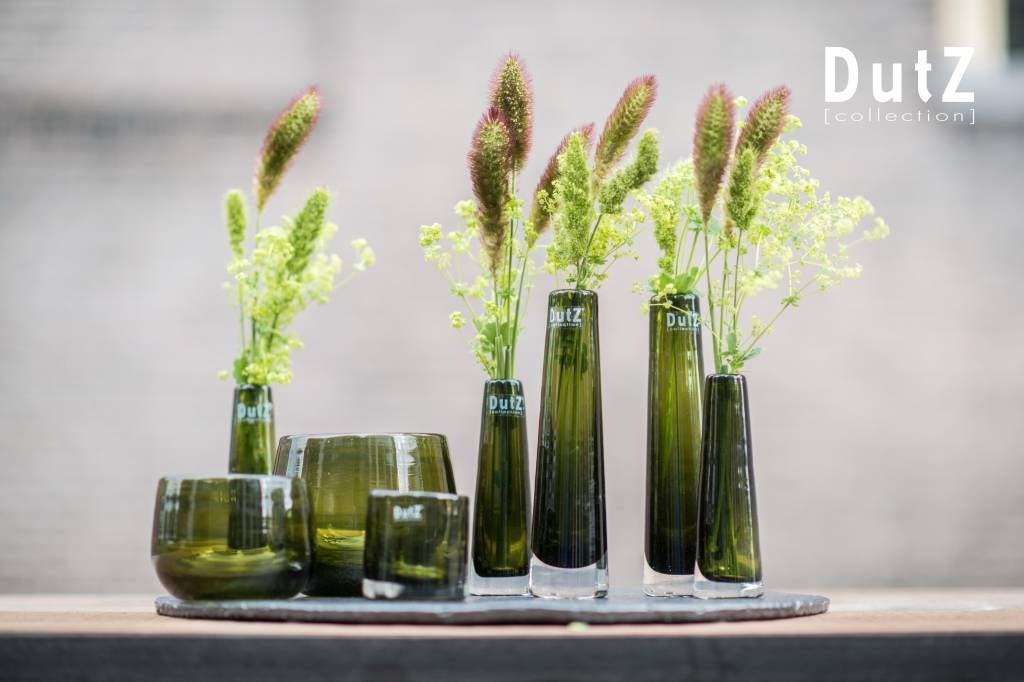 5 Mooie Vazen : Vaas solifleur olive dutz vaasjes groen flowerfeldt.com
