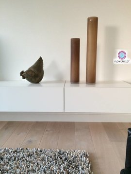 DutZ Cilinder tall cognac sand