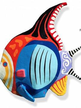 Art figure Butterfly fish