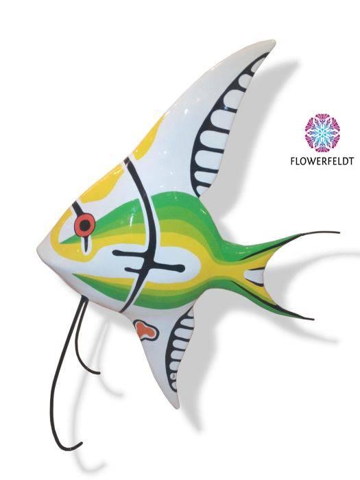 Sunfish sculpture green