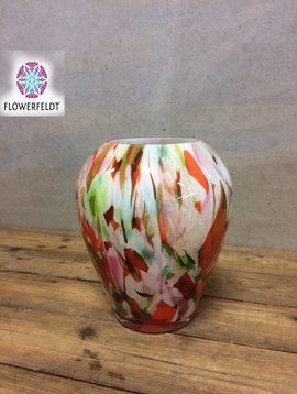 Fidrio Vase Mixed Colors Alore