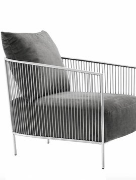 Eichholtz Chair Knox grey