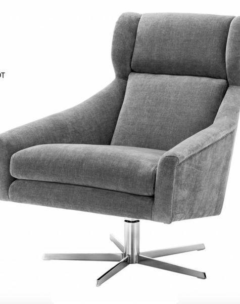 Eichholtz Grijze swivel Chair Nara