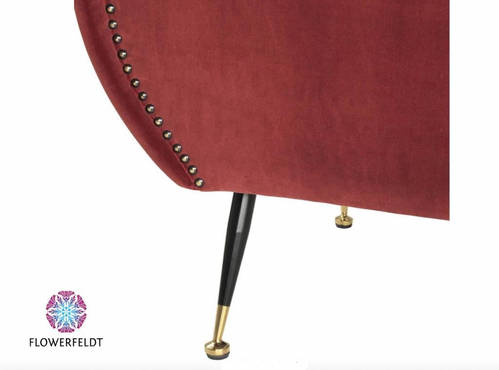 Eichholtz Red design chair Giardino