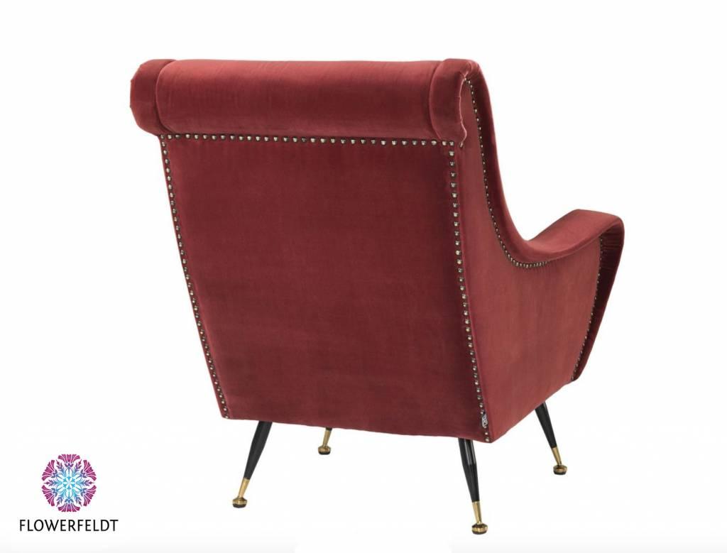 Eichholtz Rode design stoel chair Giardino