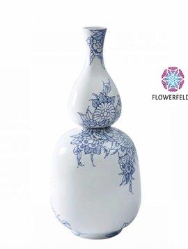 Double bottle vase