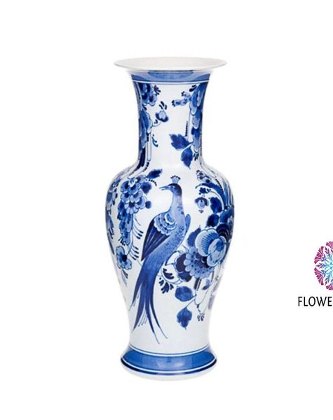 Bird Vase Delft Blue Delft Blue Vases Delft Blue Online