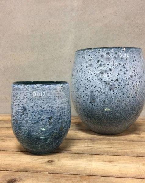 Dutz Online Shop vase bubbelo darkgreen - green vases - shop dutz online - flowerfeldt