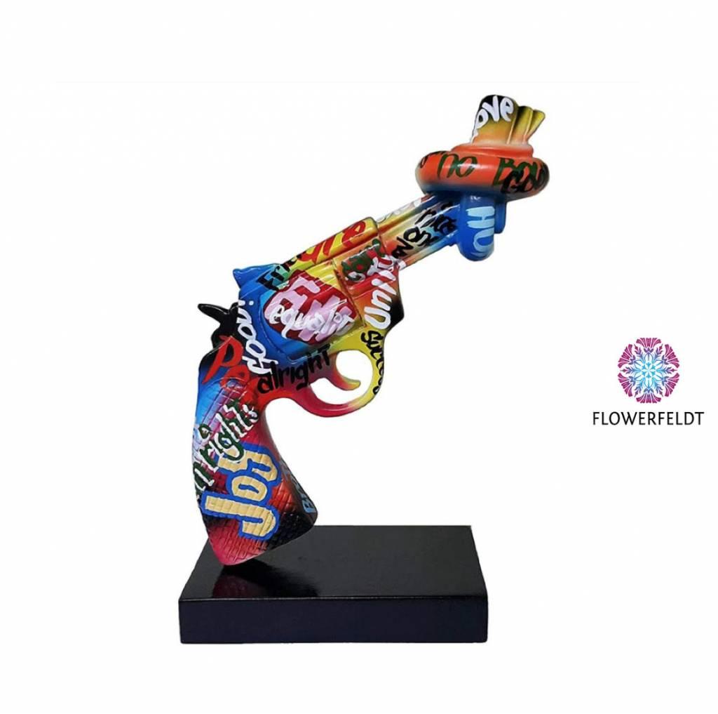 Mia Coppola Peace Gun Graffiti - H26 cm
